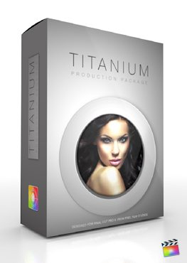 Final Cut Pro X Plugin Production Package Titanium from Pixel Film Studios
