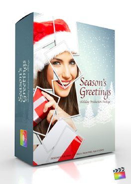 Final Cut Pro X Plugin Production Package Seasons Greetings from Pixel Film Studios