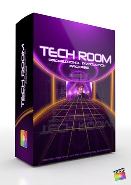 Final Cut Pro X Plugin Production Package Tech Room from Pixel Film Studios