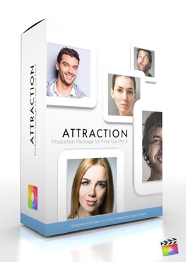 Final Cut Pro X Plugin Production Package Attraction from Pixel Film Studios