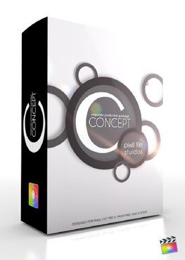 Final Cut Pro X Plugin Production Package Concept C from Pixel Film Studios