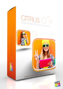 Final Cut Pro X Plugin Production Package Citrus from Pixel Film Studios
