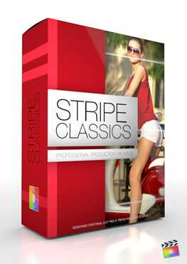 Final Cut Pro X Plugin Production Package Stripe Classics from Pixel Film Studios