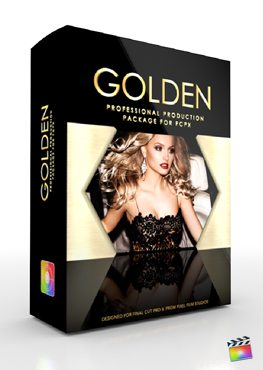 Final Cut Pro X Plugin Production Package Golden from Pixel Film Studios