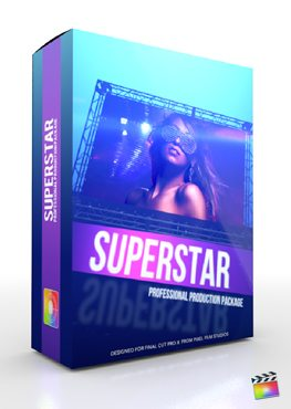 Final Cut Pro X Plugin Production Package Superstar from Pixel Film Studios