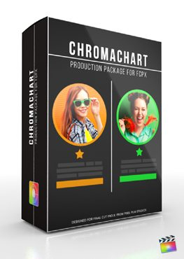 Final Cut Pro X Plugin Production Package Chromachart from Pixel Film Studios