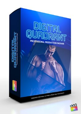 Final Cut Pro X Plugin Production Package Digital Quadrant from Pixel Film Studios