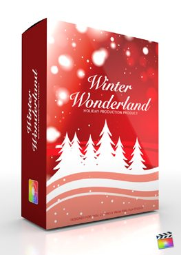 Final Cut Pro X Plugin Production Package Winter Wonderland from Pixel Film Studios