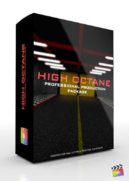 Final Cut Pro X Plugin Production Package High Octane from Pixel Film Studios