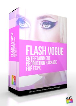 Final Cut Pro X Plugin Production Package Flash Vogue from Pixel Film Studios