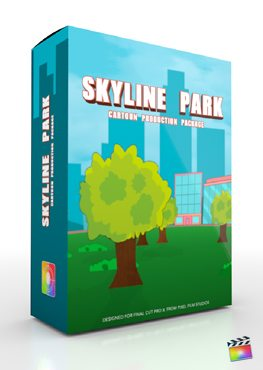 Final Cut Pro X Plugin Production Package Skyline Park from Pixel Film Studios