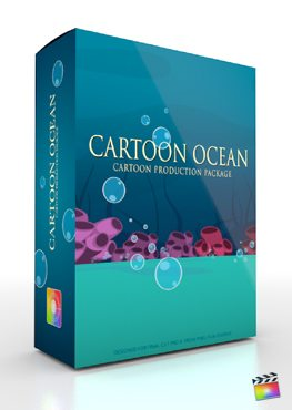 Final Cut Pro X Plugin Production Package Cartoon Ocean from Pixel Film Studios