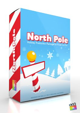 Final Cut Pro X Plugin Production Package North Pole from Pixel Film Studios