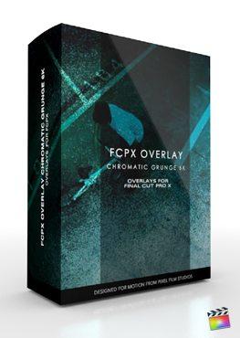 FCPX Overlay Chromatic Grunge 6K