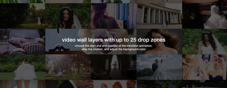 Professional - Video Wall Transitions for Final Cut Pro X
