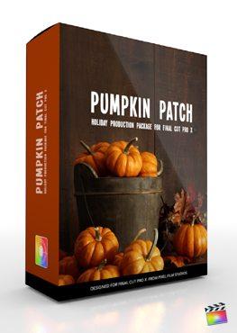 Final Cut Pro X Plugin Production Package Theme Pumpkin Patch from Pixel Film Studios