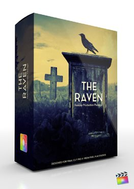 Final Cut Pro X Plugin Production Package Theme The Raven from Pixel Film Studios