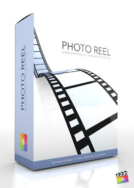 Final Cut Pro X Plugin Production Package Theme Photo Reel from Pixel Film Studios