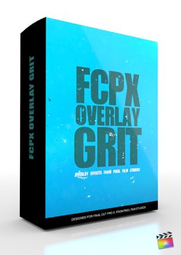 Final Cut Pro X Plugin FCPX Overlay Grit from Pixel Film Studios