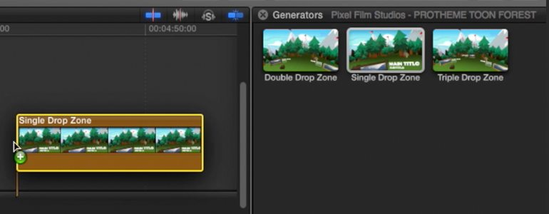 Professional - Cartoon Themes for Final Cut Pro X