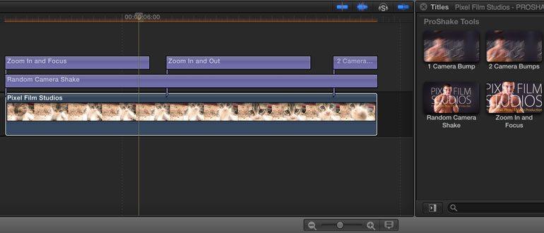 Professional - Camera Tools for Final Cut Pro X