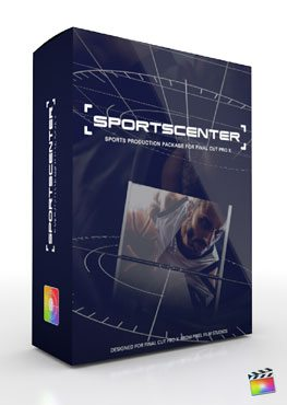 Final Cut Pro X Plugin Production Package Theme Sportscenter from Pixel Film Studios