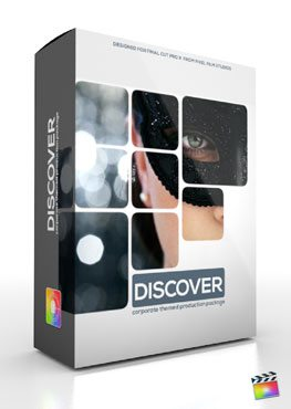 Final Cut Pro X Plugin Production Package Theme Discover from Pixel Film Studios