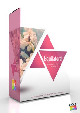 Final Cut Pro X Plugin Production Package Theme Equilateral from Pixel Film Studios