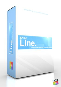 Final Cut Pro X Plugin Production Package Theme Shine Line from Pixel Film Studios