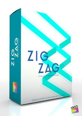 Final Cut Pro X Plugin Production Package Theme Zig Zag from Pixel Film Studios