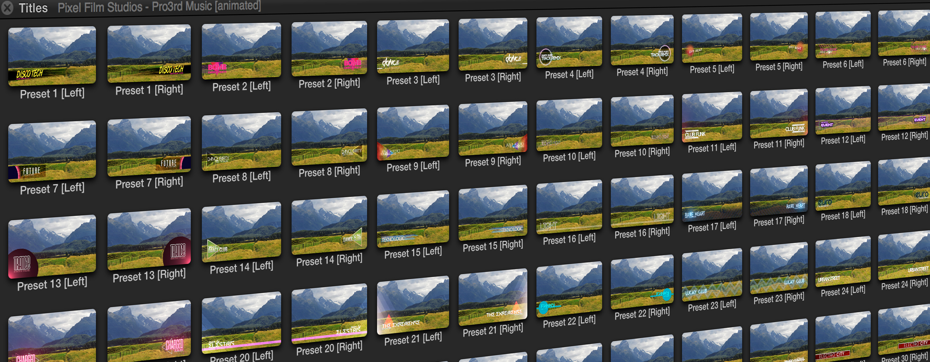 Professional - Lower Thirds for Final Cut Pro X