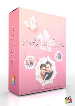 Final Cut Pro X Plugin Production Package Theme Wedding Flora from Pixel Film Studios