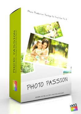 Final Cut Pro X Plugin Production Package Theme Photo Passion from Pixel Film Studios
