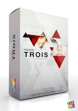 Final Cut Pro X Plugin Production Package Theme Trois from Pixel Film Studios