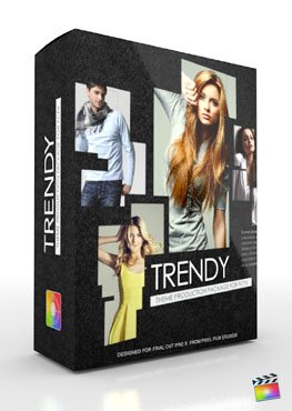 Final Cut Pro X Plugin Production Package Theme Trendy from Pixel Film Studios