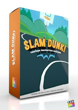 Final Cut Pro X Plugin Production Package Theme Slam Dunk from Pixel Film Studios