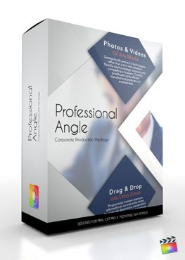 Final Cut Pro X Plugin Production Package Theme Professional Angle from Pixel Film Studios
