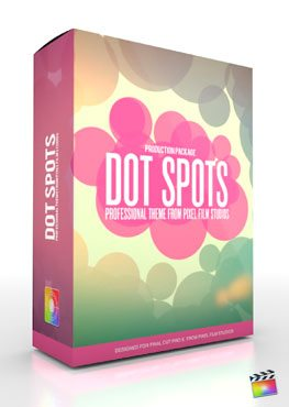 Final Cut Pro X Plugin Production Package Theme Dot Spots from Pixel Film Studios