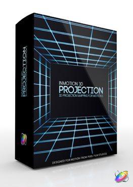 Apple Motion 5 Plugin InMotion 3D Projection from Pixel Film Studios