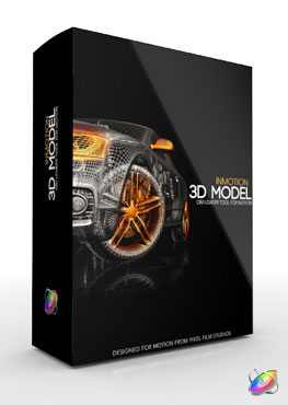 Apple Motion 5 Plugin InMotion 3D Model from Pixel Film Studios