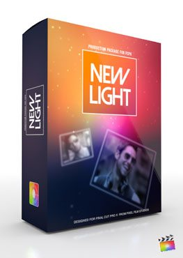 Final Cut Pro X Plugin Production Package Theme New Infinity from Pixel Film Studios