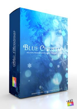 final cut pro x holiday themes blue christmas