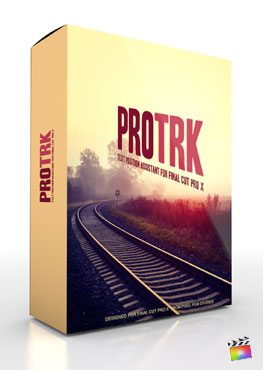 Final Cut Pro X Plugin ProTRK from Pixel Film Studios