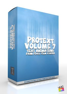 Final Cut Pro X Plugin ProText Volume 7 from Pixel Film Studios