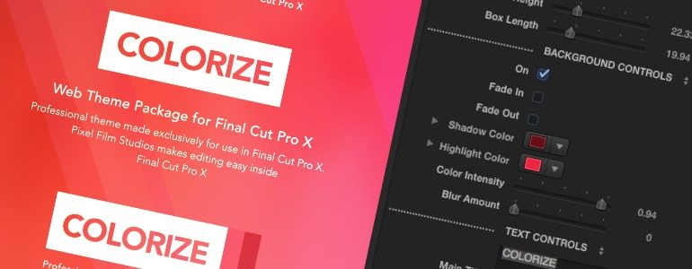 Professional - Web Theme for Final Cut Pro X