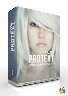 Final Cut Pro X Plugin ProText Volume 1 from Pixel Film Studios