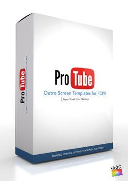 Final Cut Pro X Plugin ProTube Outro from Pixel Film Studios