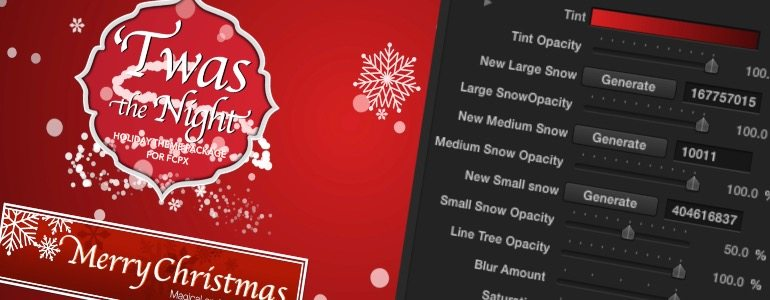 Professional - Holiday Themes for Final Cut Pro X