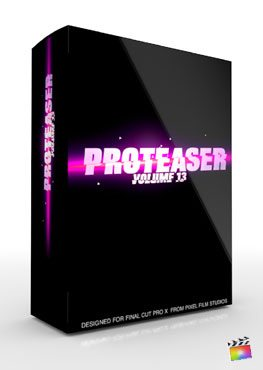 Final Cut Pro X Plugin Proteaser Volume 13 from Pixel Film Studios