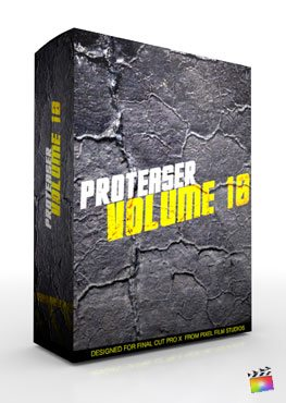 Final Cut Pro X Plugin Proteaser Volume 10 from Pixel Film Studios